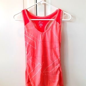 Nike womens size small drink fit tank top